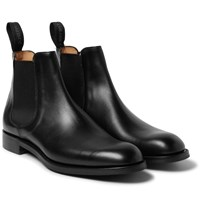 Cheaney Godfrey Leather Chelsea Boots Black