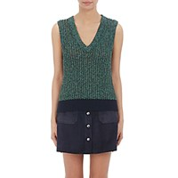 Rag And Bone Women's Aubrey Tank Navy Green Light Blue Navy Green Light Blue