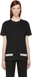 Off White Black College T Shirt