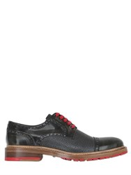 Harris Embossed Leather Derby Shoes