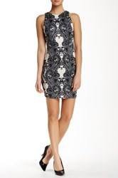 Alexia Admor Bodycon Paisley Scuba Dress Black