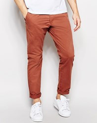 Jack And Jones Jack And Jones Straight Fit Chinos Red