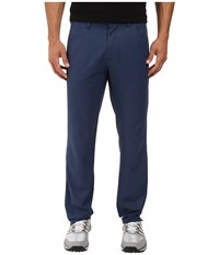 Adidas Ultimate Dot Herringbone Pants Mineral Blue Collegiate Navy Men's Casual Pants