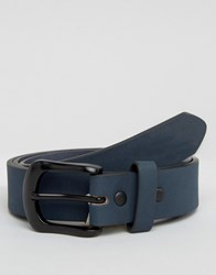 New Look Belt In Navy Navy