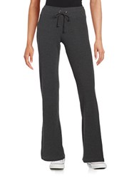 Marc New York Drawstring Knit Pants Charcoal Heather