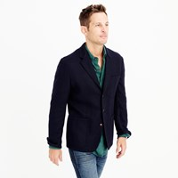 J.Crew Wallace And Barnes Blazer In Herringbone English Wool
