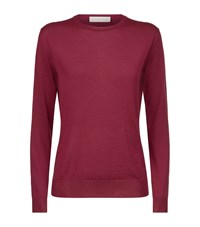 Stella Mccartney Crew Neck Wool Sweater Female Pink
