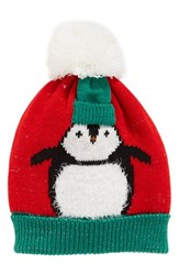 Collection Xiix Women's Chilly Penguin Pom Beanie