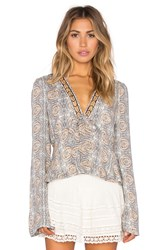 Free People Time Of Your Life Top Gray