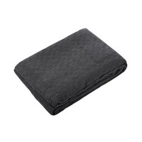 Calvin Klein Madison Charcoal Bedcover 275X230cm