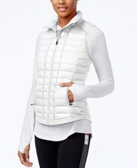Tommy Hilfiger Quilted Zippered Vest White