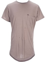 Chapter Chest Pocket T Shirt Nude And Neutrals