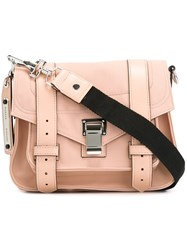 Proenza Schouler 'Ps1' Pouch Pink And Purple