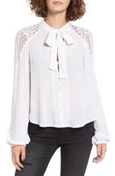 Band Of Gypsies Women's Lace Poet Blouse