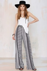Nasty Gal After Party Vintage Kaleidoscope Palazzo Pant