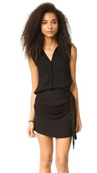 Young Fabulous And Broke Marion Dress Black