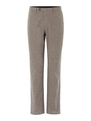 Linea Stanley Crosshatch Textured Trouser Stone