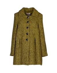 Darling Coats Acid Green