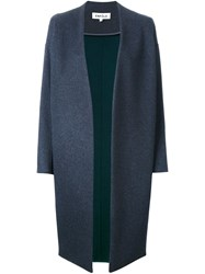 Enfold Open Front Coat Grey