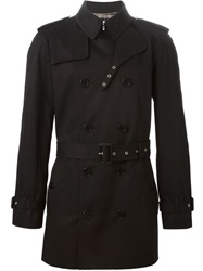 'Iconic' Trench Coat Black