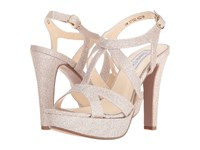 Touch Ups Queenie Champagne Glitter Women's Shoes Gold
