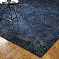 Cb2 The Hill Side Disintegrated Floral Rug 5'X8'