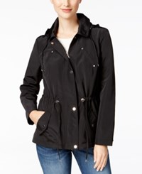 Charter Club Hooded Utility Jacket Only At Macy's Deep Black