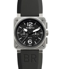 Bell And Ross Br0394 Bl St Aviation Watch Sapphire