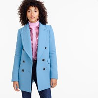 J.Crew Double Breasted Coat In Double Cloth Wool