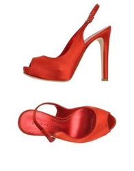 Martin Clay Sandals Red
