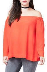 Rachel Roy Plus Size Women's Off The Shoulder Top