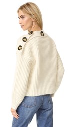 Acne Studios Holden Chunky Sweater Off White