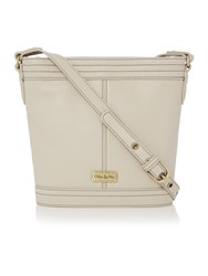 Ollie And Nic Gregory Neutral Bucket Crossbody Bag