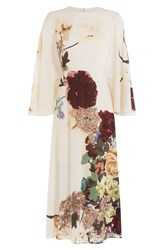 Valentino Printed Silk Dress Multicolor