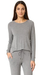 Pj Salvage Lounge Top Heather Grey