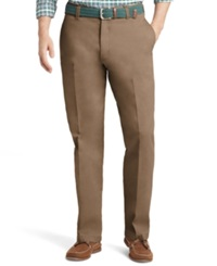 Izod Saltwater Classic Fit Chino Pants Dusty Gravel