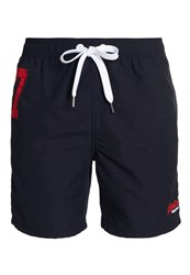 Superdry Premium Waterpolo Shorts Navy
