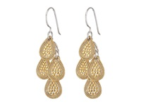 Anna Beck Chandelier Earrings Sterling Silver W 18K Gold Vermeil Earring