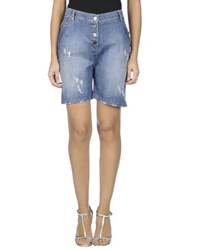 La Fee Maraboutee Denim Denim Bermudas Women