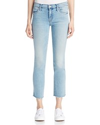 Mother Rascal Ankle Snippet Jeans In Wild At Heart