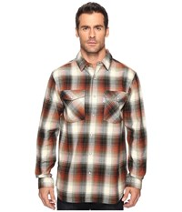Carhartt Trumball Snap Front Plaid Shirt Olive Men's Long Sleeve Button Up