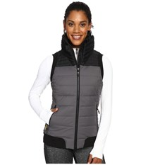 Lole Brooklyn Vest Faded Black Women's Vest Gray