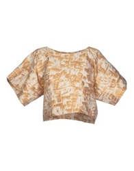 Paolo Errico Blouses Beige