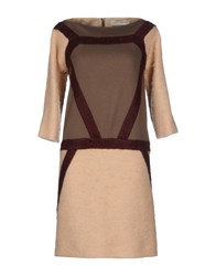 Veronique Branquinho Dresses Short Dresses Women Beige