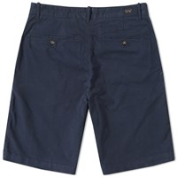 Edwin Rail Short Blue