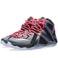Nike Lebron Xii Elite 'Rose Gold' Black And Metallic Red Bronze