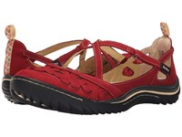 Jambu Blossom Encore Red Women's Hook And Loop Shoes