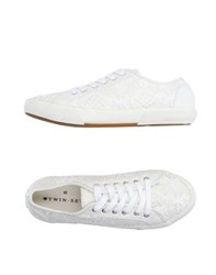 Twin Set Simona Barbieri Footwear Low Tops And Trainers Women Ivory