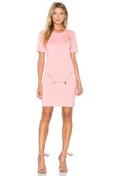 Love Moschino Shift Dress Pink