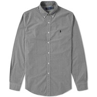 Polo Ralph Lauren Button Down Gingham Shirt Black